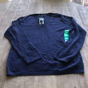 Tommy Hilfiger blue women's sweater